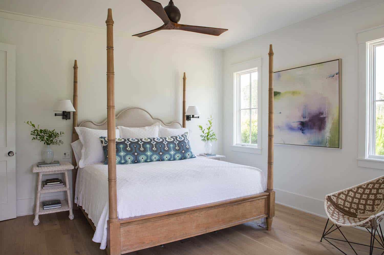 chambre de style cottage-plage