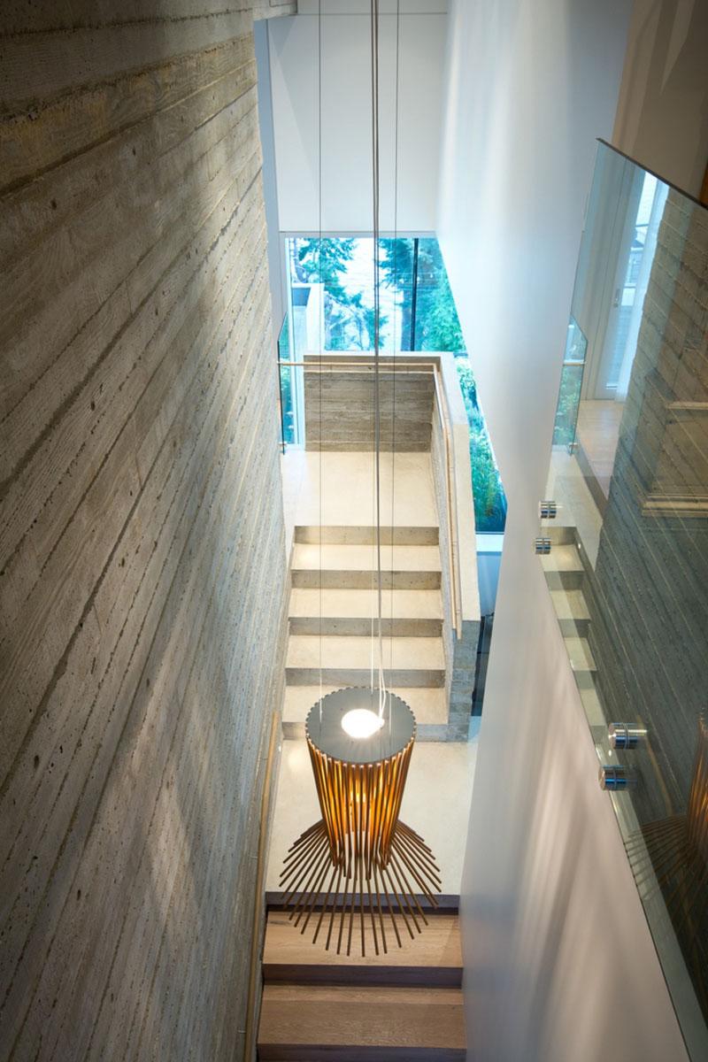 Escaliers Mcleod Bovell de West Vancouver