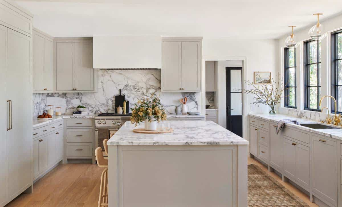 maison-de-rêve-cuisine-moderne-marbre blanc