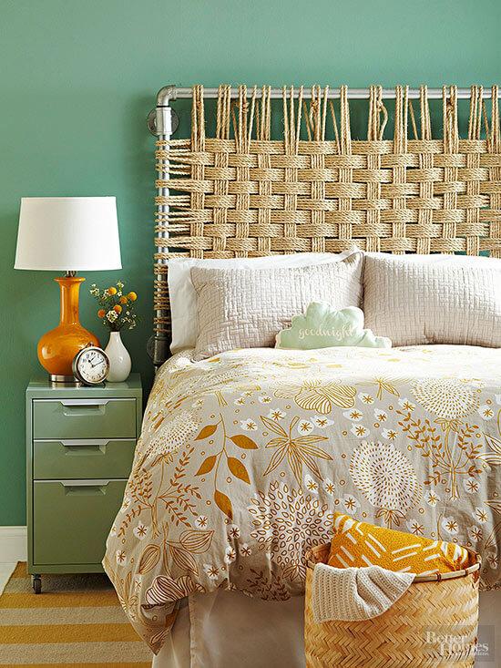 Projets de corde de bricolage pour votre chambre