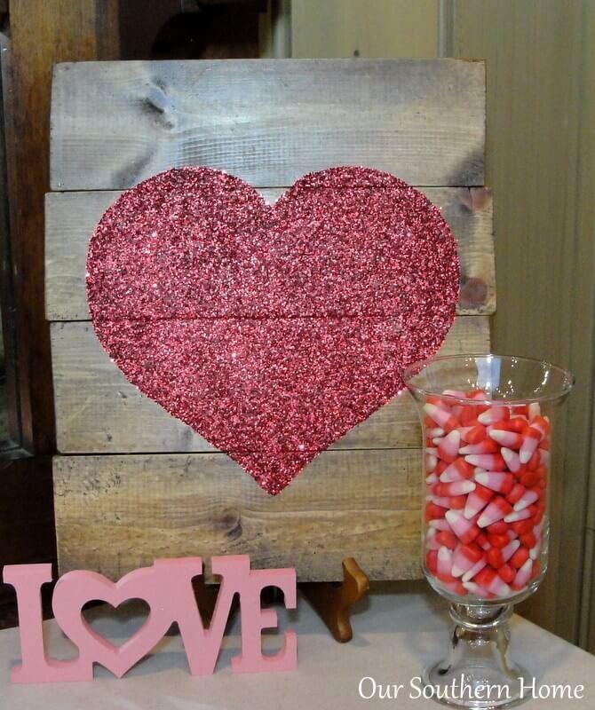 Pièce de bricolage pour la Saint Valentin
