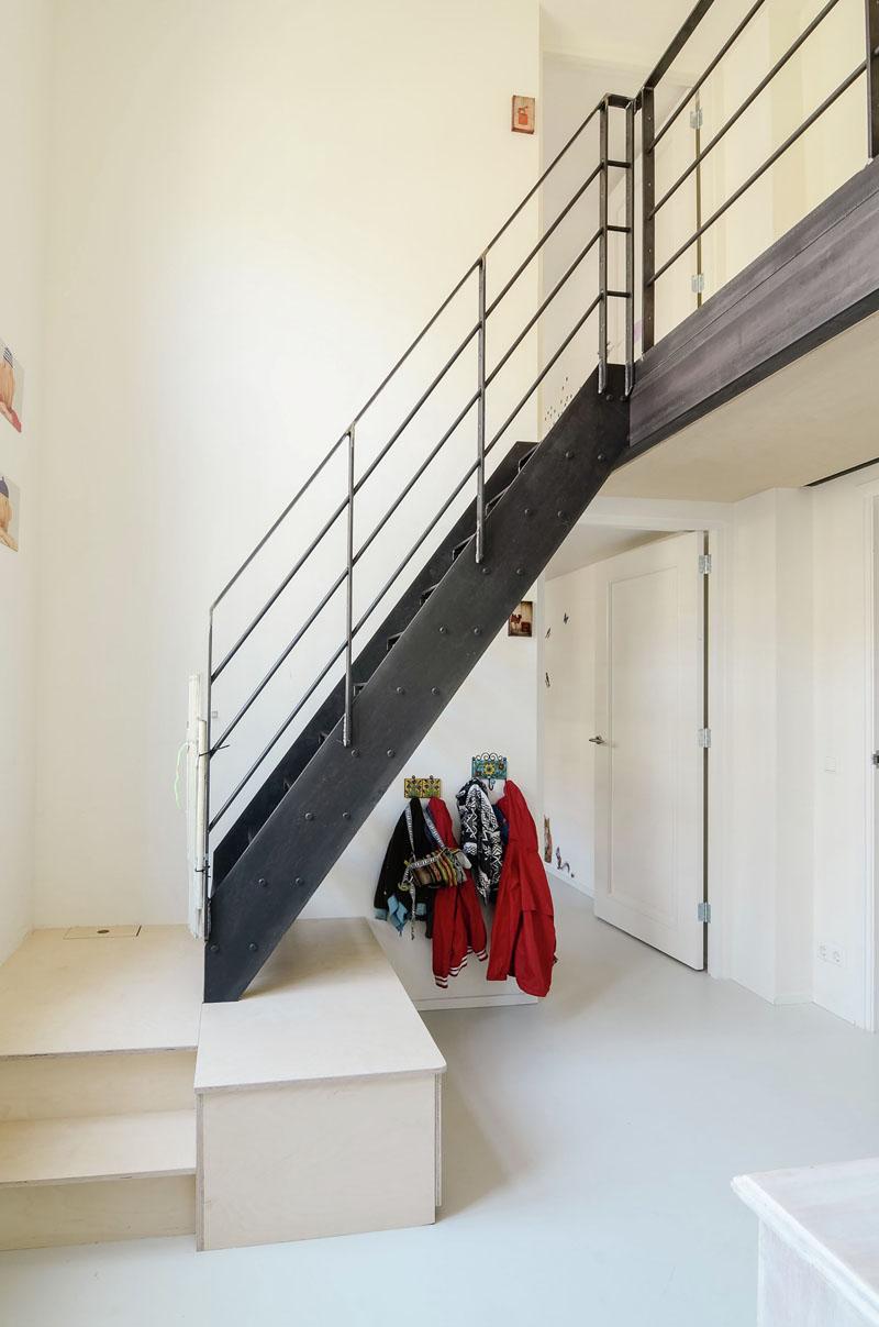 Ons Dorp escaliers de conversion old school