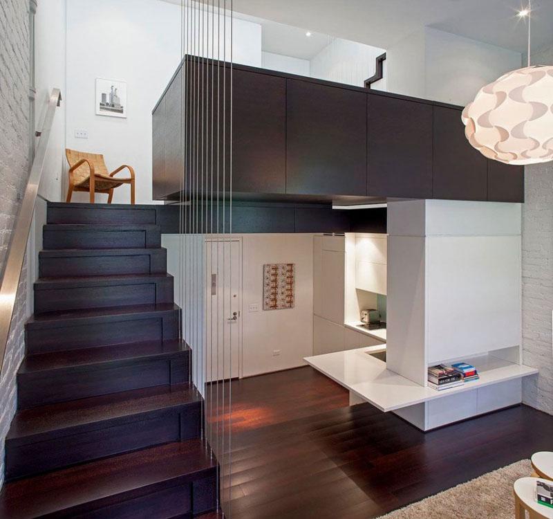 Pavillon de lit Manhattan Microloft