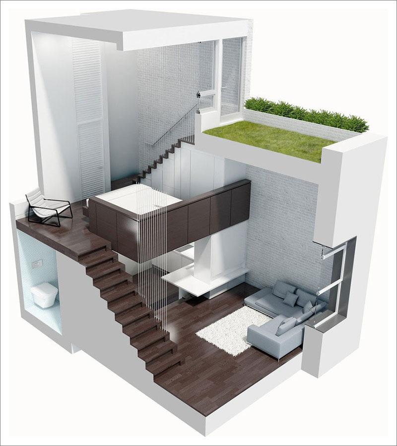 Plan de Manhattan Microloft