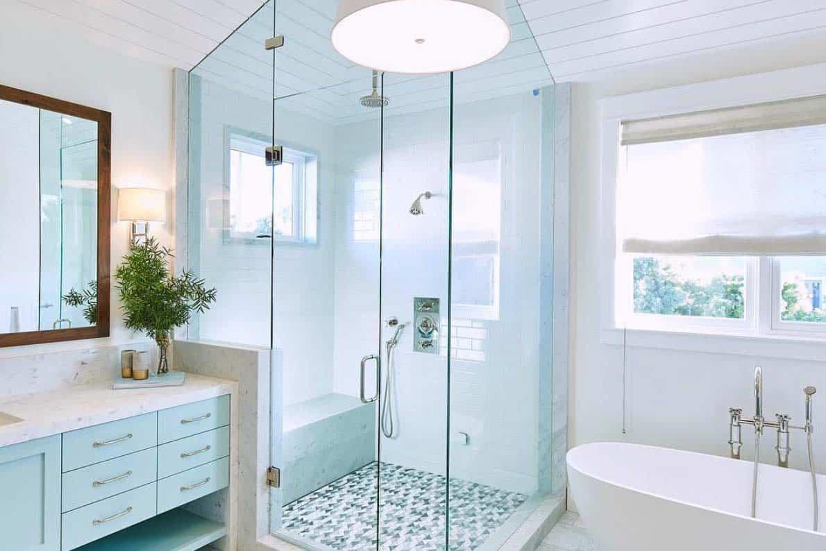 salle de bain principale de ferme moderne