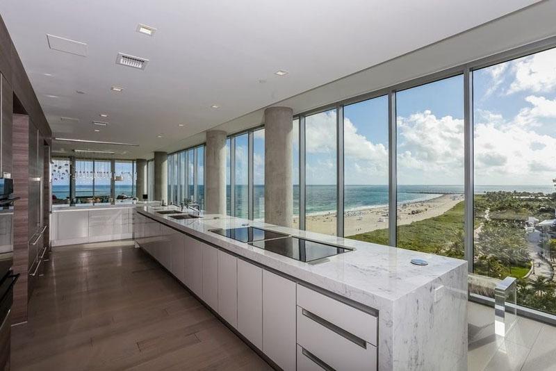 321 Ocean Penthouse cuisine