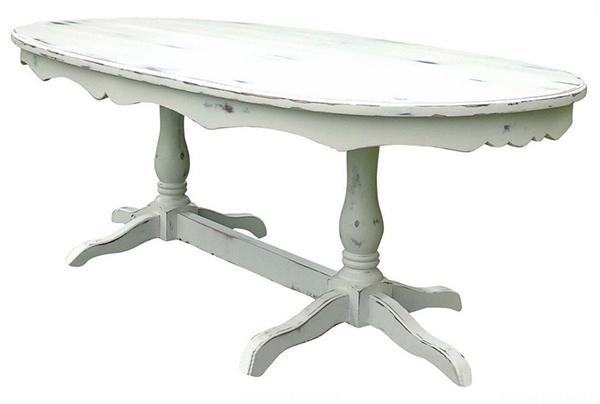 Tables de salle à manger à double piédestal Hampton