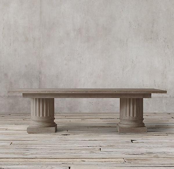 Tables de salle à manger architecturales