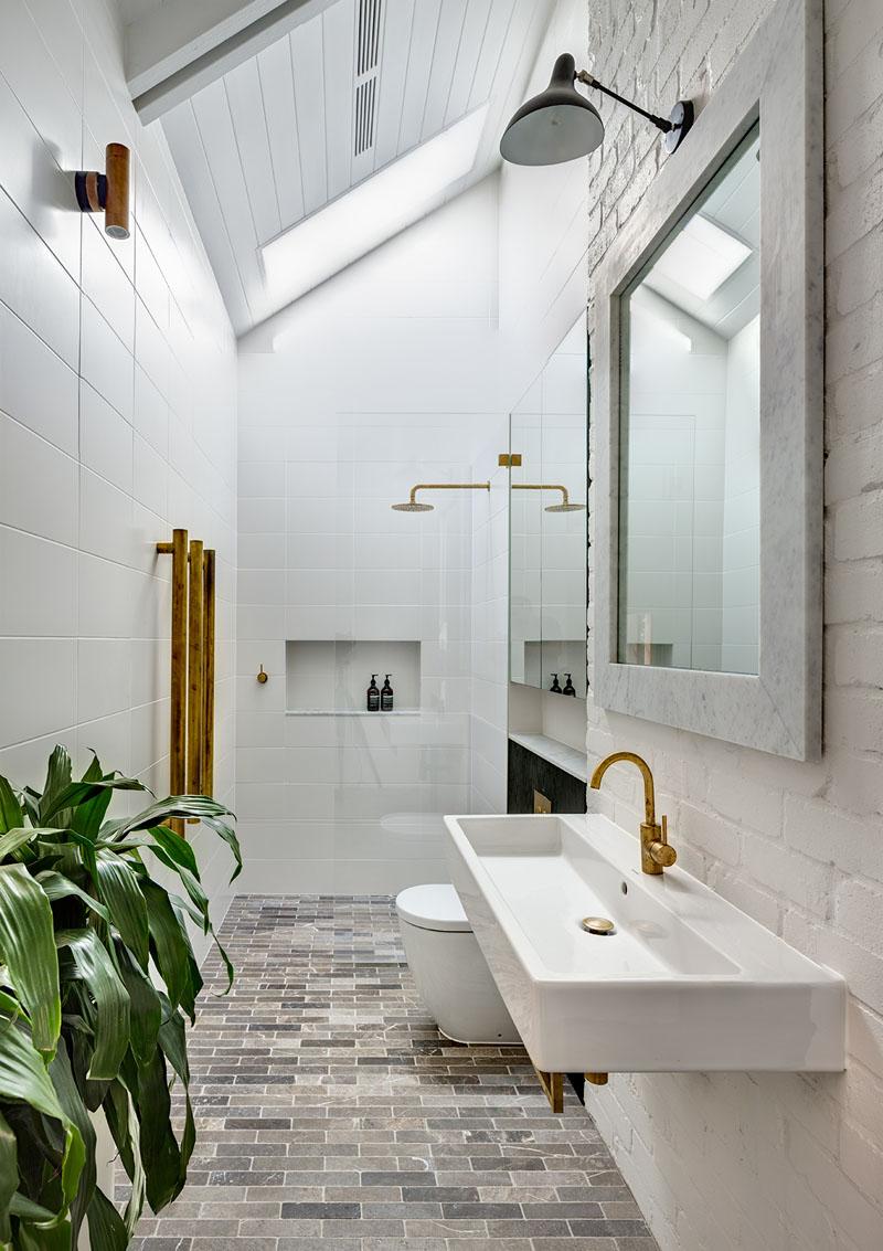 Salle de bain Barn House