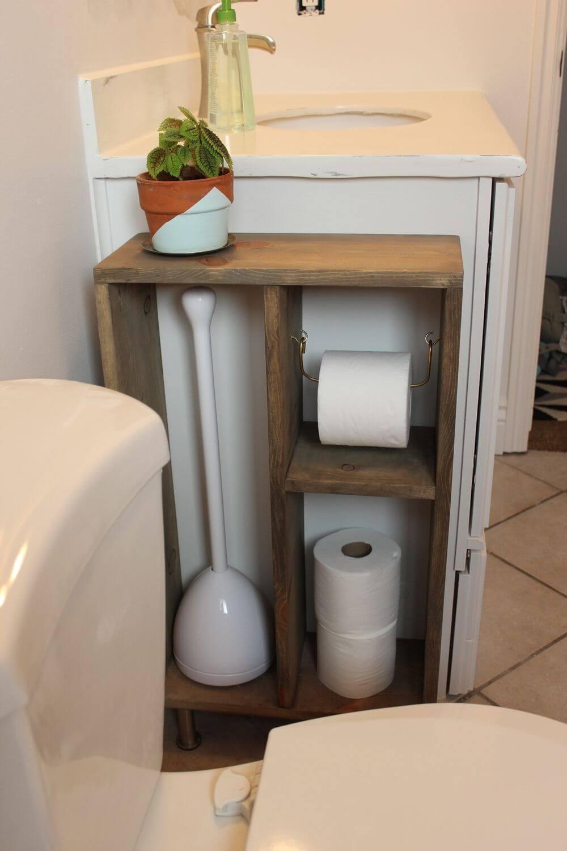 Projets de palettes peu encombrants pour votre salle de bain