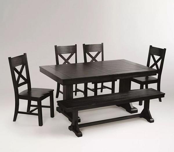Collection de salle à manger Verona noir antique