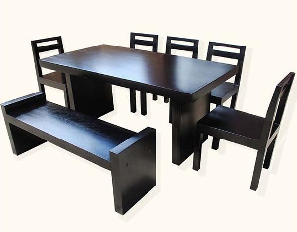 Banc d'ensembles de salle à manger