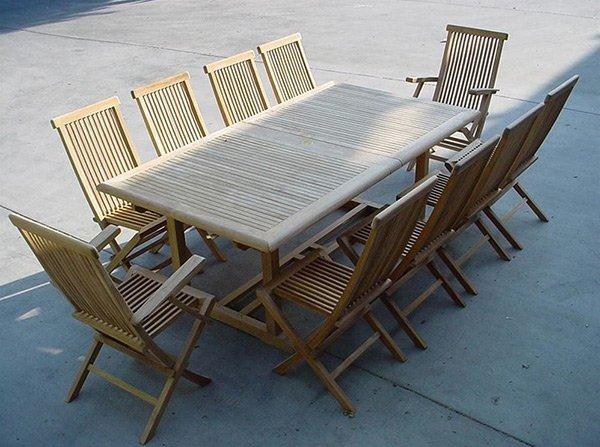 Table à feuilles tombantes