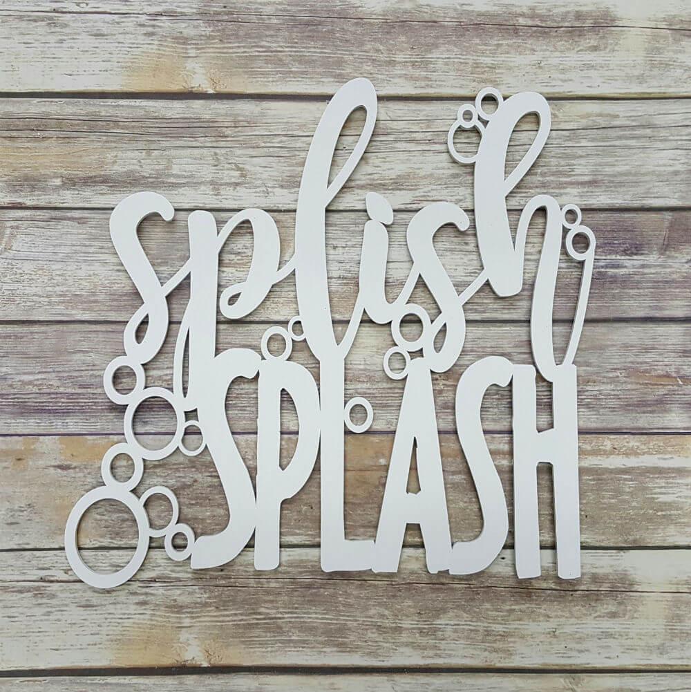 Panneau de décoration de salle de bain Splish Splash