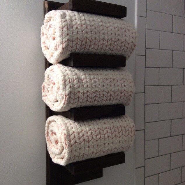 Porte-serviettes Tin Barn Creations