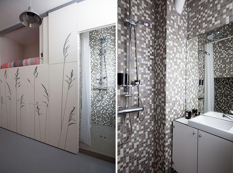 Salle de bain du Studio KITOKO