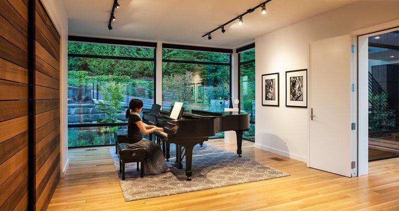 Studio de piano The Music Box Residence