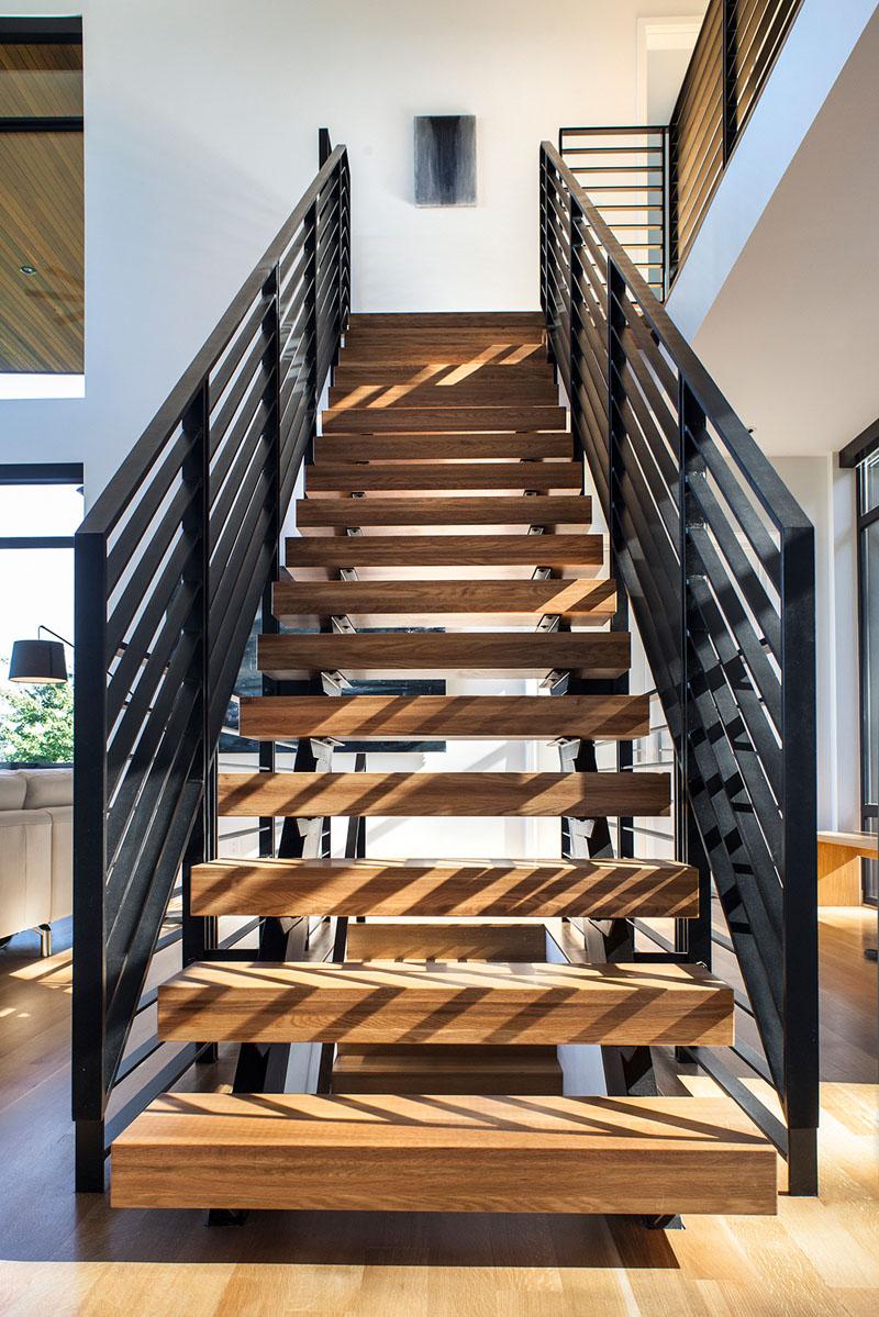 Escaliers de la résidence Music Box