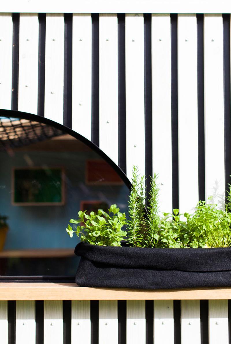 Fenêtre courbée Playhouse pour enfants