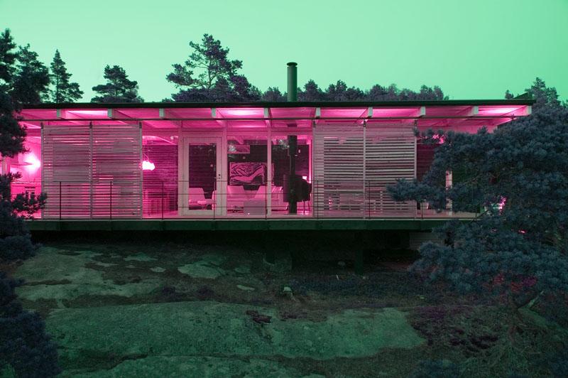 Éclairage Villa Bord de Mer
