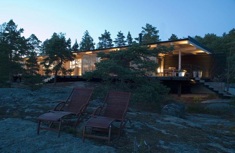 Espace extérieur de la Villa Bord de Mer