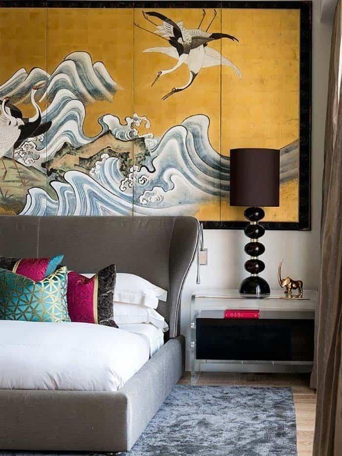 chambre loft contemporaine