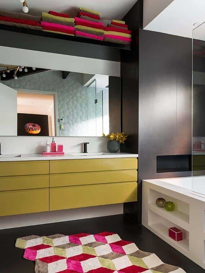 salle de bain loft contemporaine