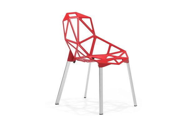 meubles modernes de chaises en aluminium