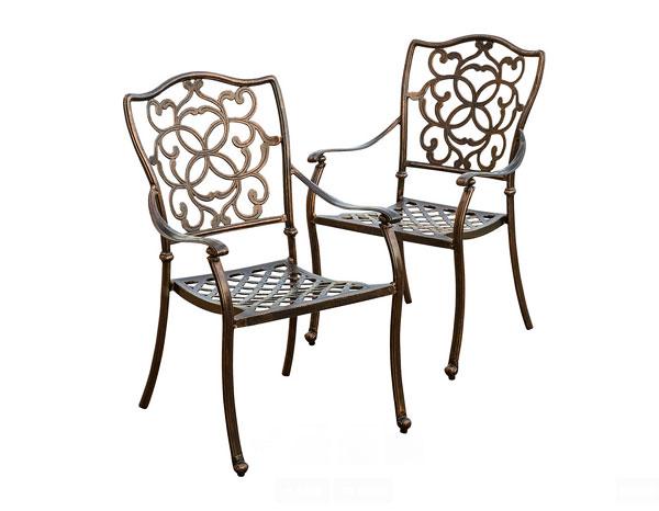 chaises d'extérieur
