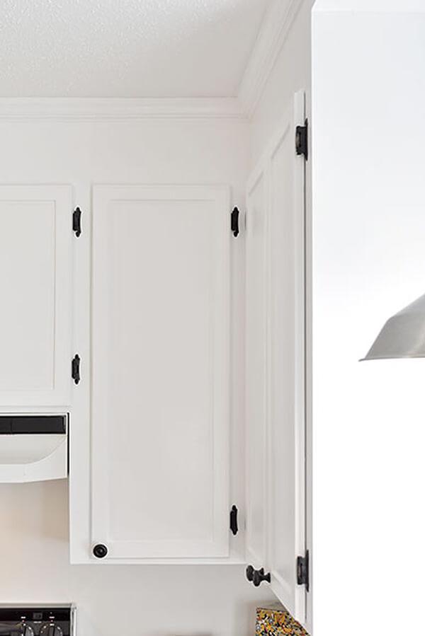 Mises à jour peu coûteuses de l'armoire avec du nouveau matériel