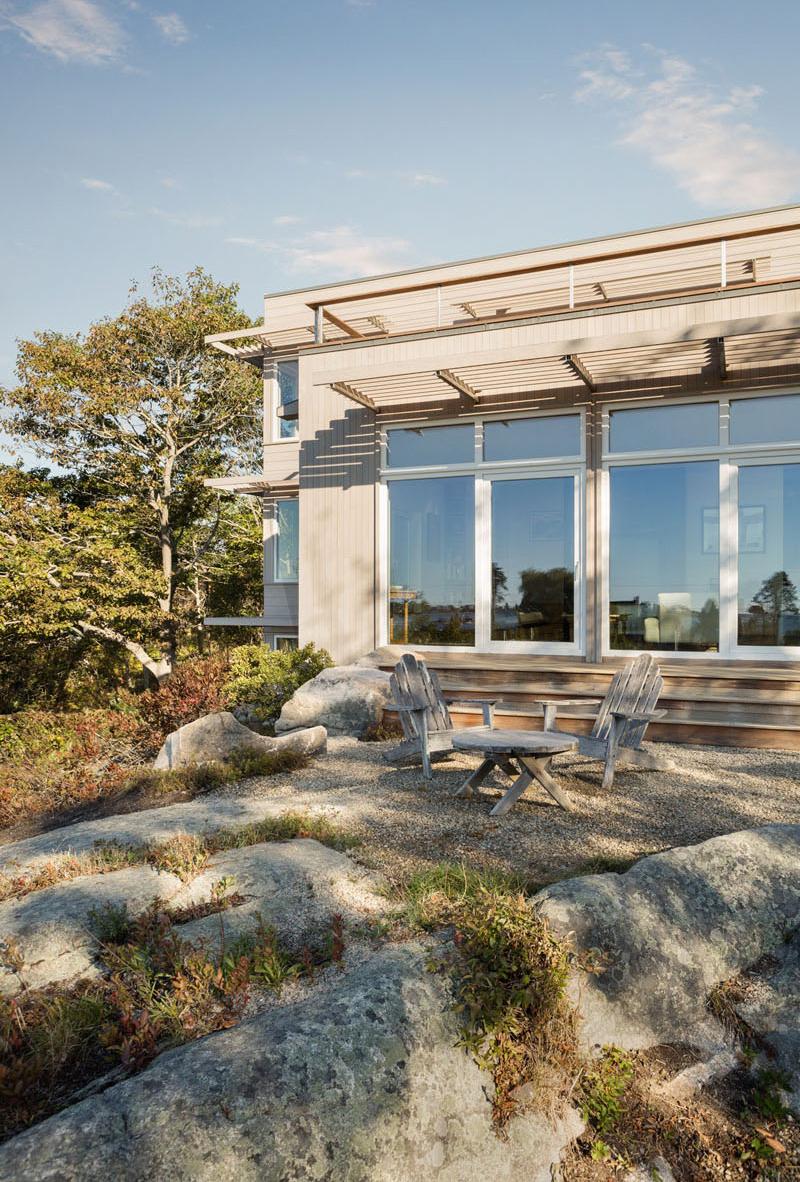 Lily Pond House en plein air