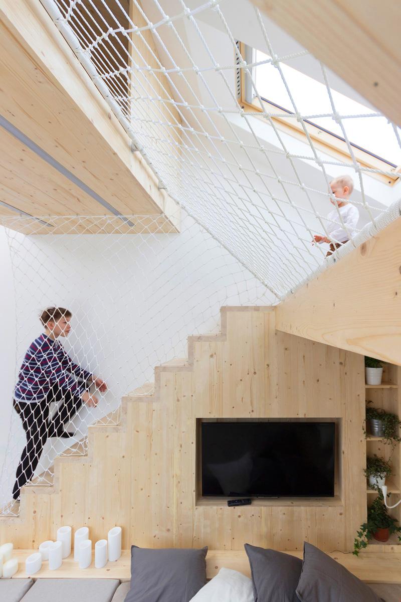 Architecture de salle de jeux chambre à coucher maison d'été