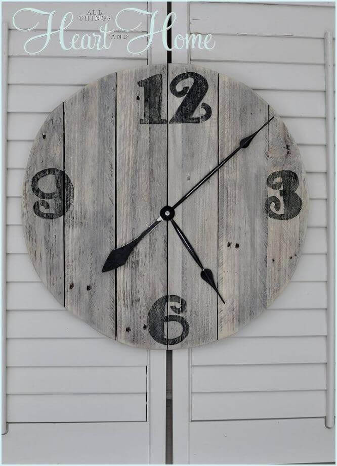 Quelle heure est-il?  Temps de palette!