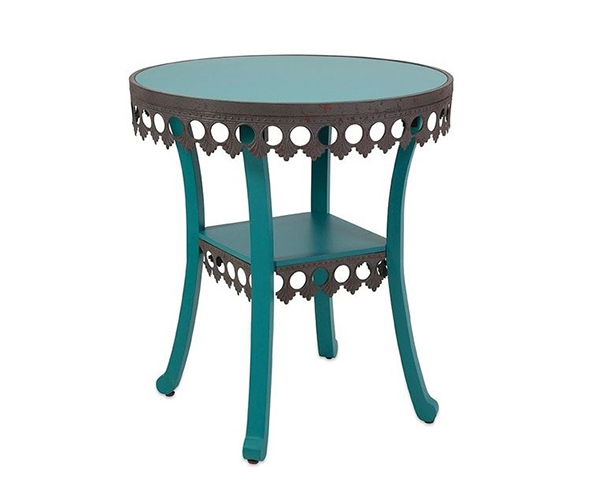 Tables d'appoint Vintage Chic Lacy Blue