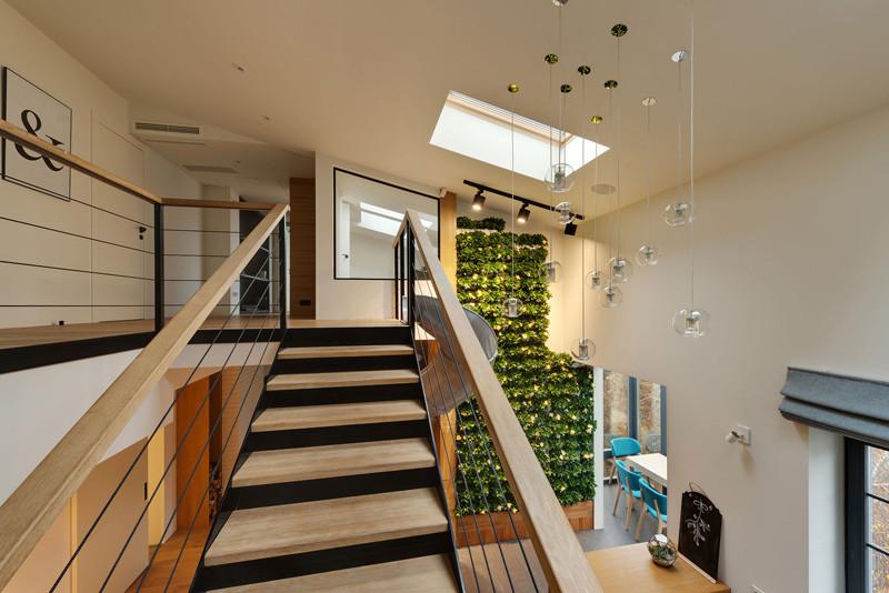 Escalier coulissant d'appartement