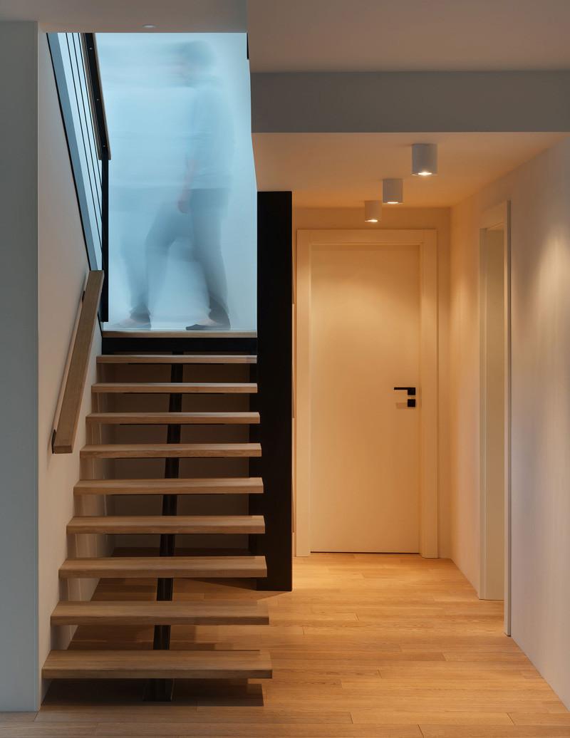 Escalier coulissant de l'appartement