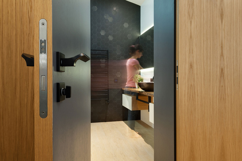 Salle de bain de l'appartement Slide