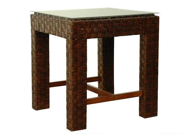 Tables de salle à manger rectangulaires à hauteur de comptoir