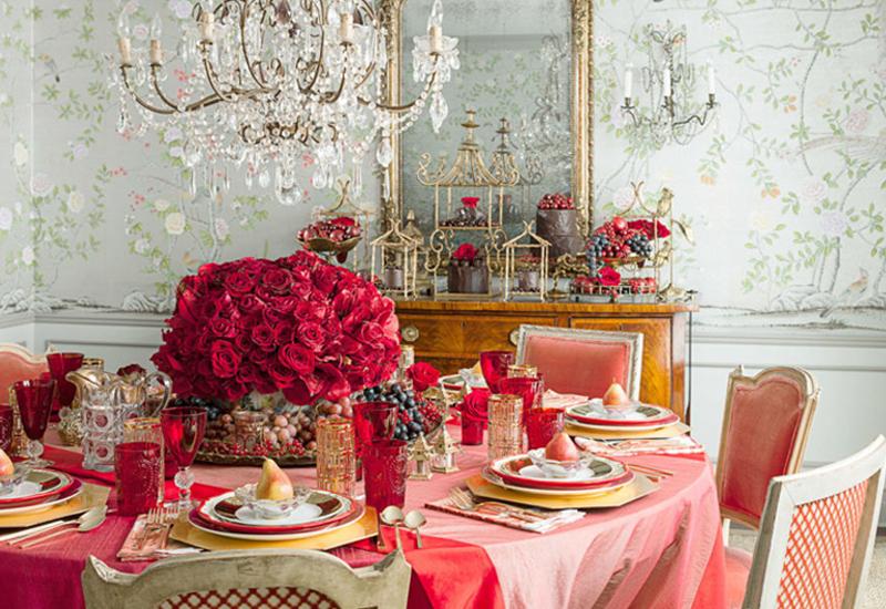Créez un décor de table romantique