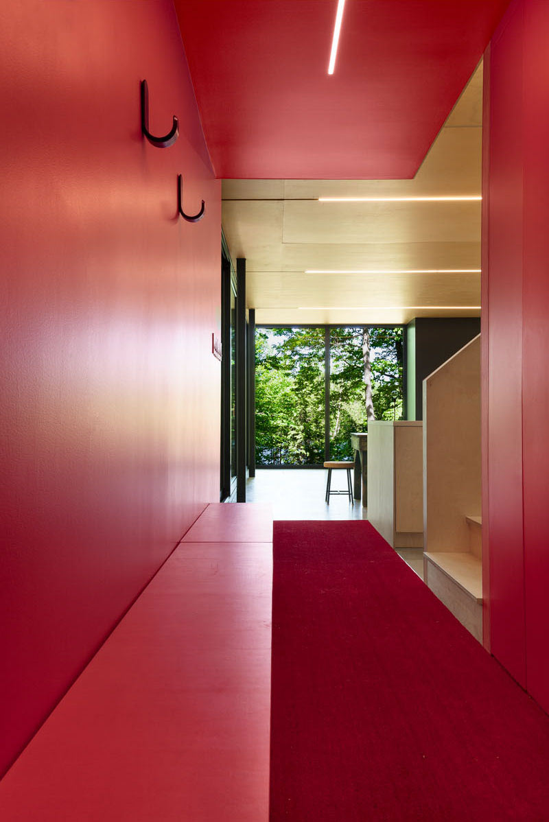 Black Cabin salle rouge