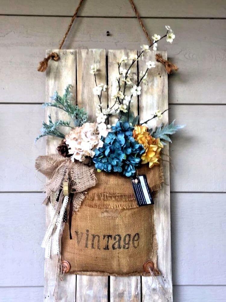 Idées de décoration de porche vintage suspendues