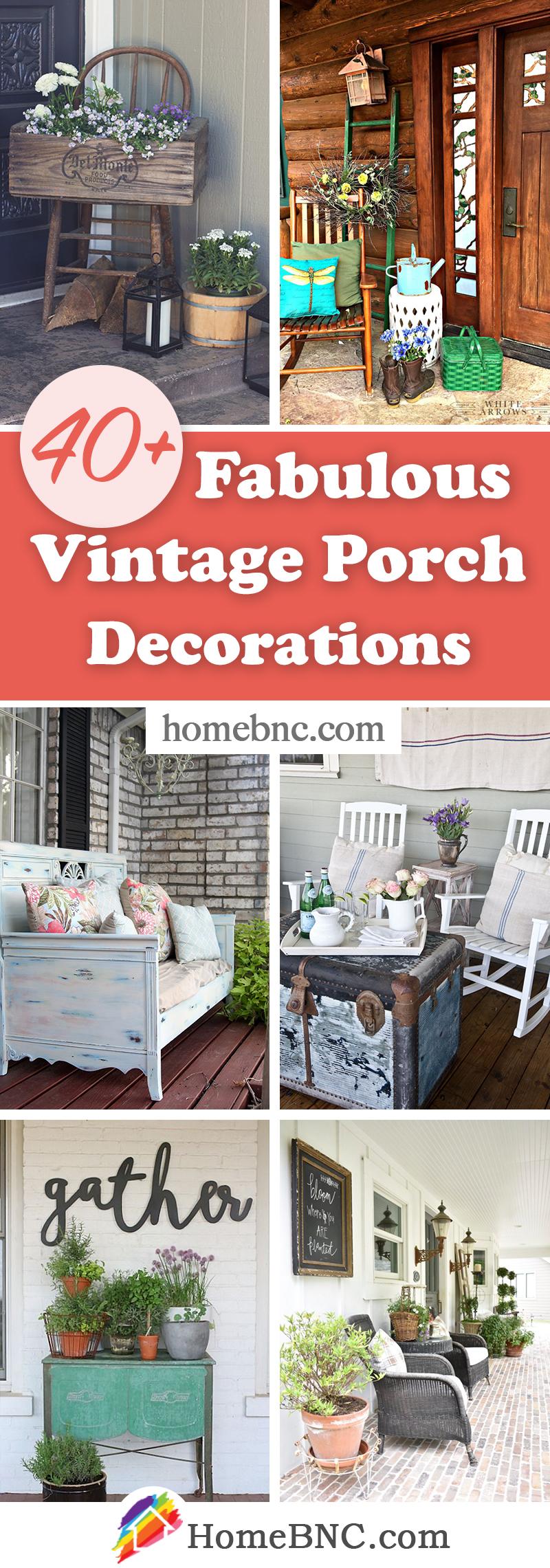Idées de décoration de porche vintage