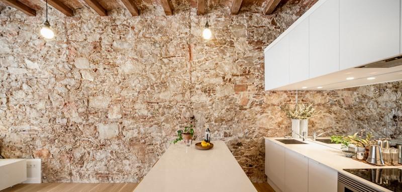 Barcelone Appartement blanc