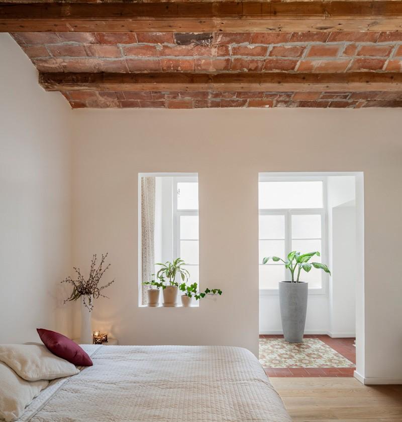 Solarium d'appartement à Barcelone