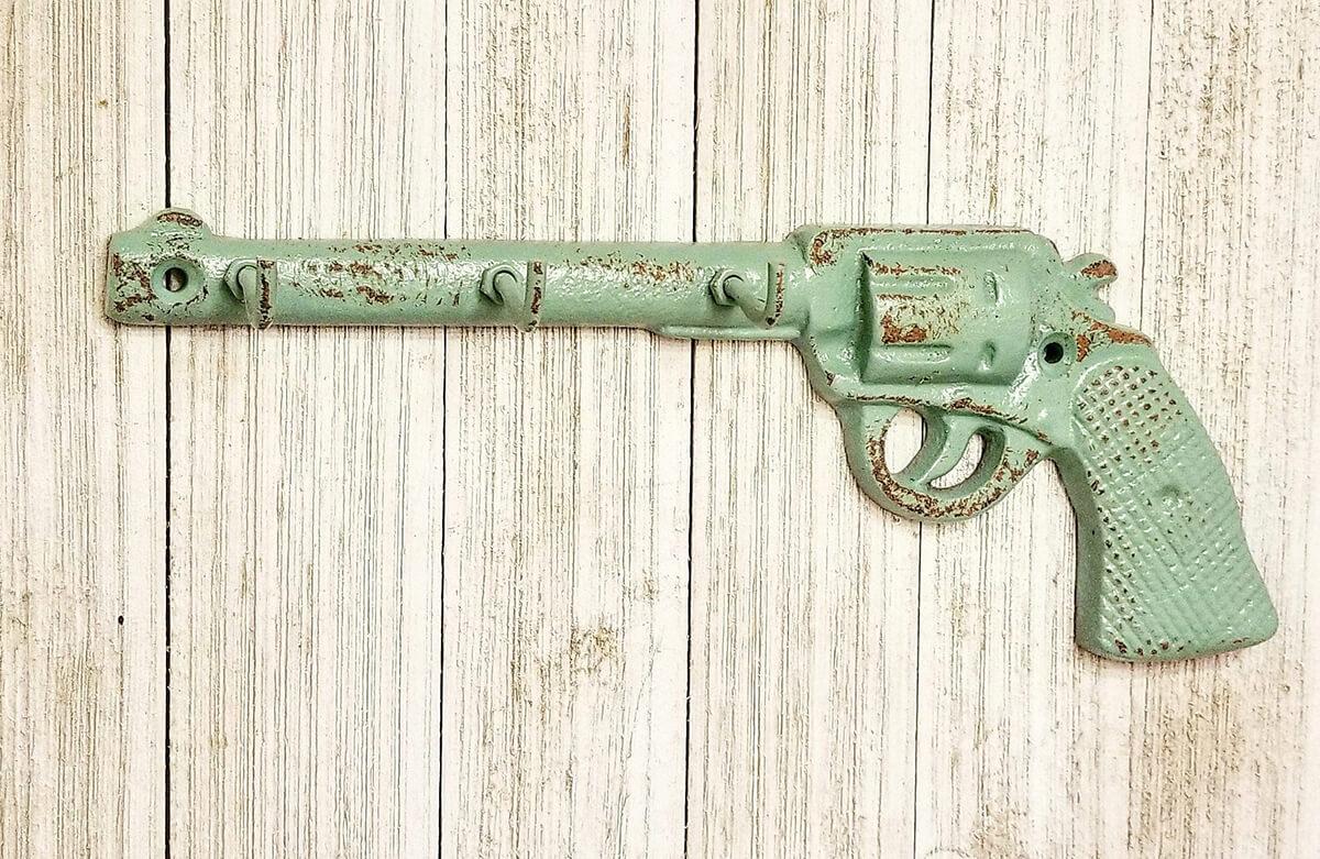 Porte-clés pour pistolet revolver à canon long