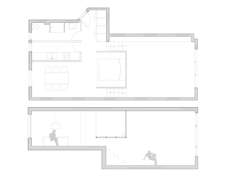 Plan de l'appartement Valentin