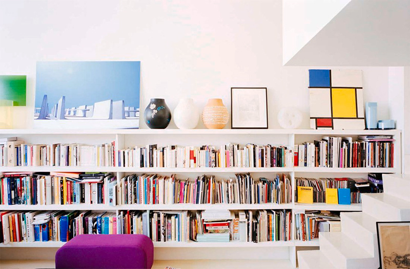 Bibliothèque Appartement Valentin