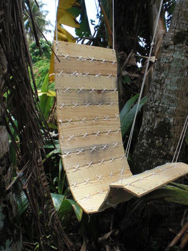 chaises de balançoire