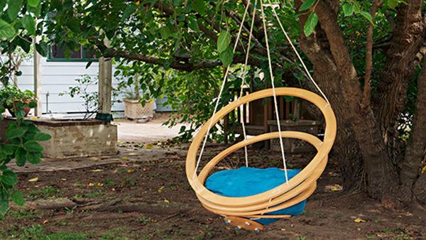 Chaises de jardin suspendues bricolage