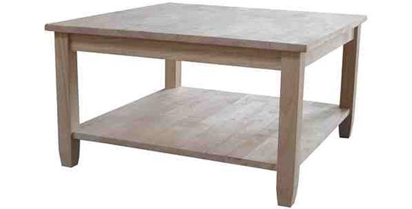 tables basses en chêne